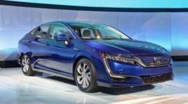 Diện kiến sedan hybrid cắm điện Honda Clarity PHEV