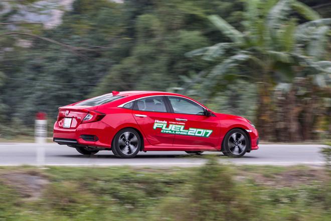 Honda VTEC Turbo Fuel Challenge 2017