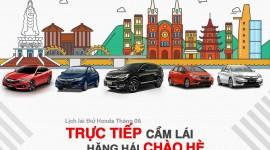 Lịch lái thử các dòng xe Honda Ôtô Vinh tháng 6/2018