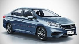 Lộ thiết kế ngoại thất vô cùng ấn tượng của Honda City 2020