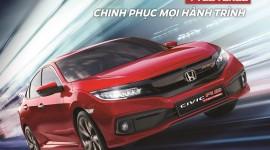 Honda Vinh chính thức ra mắt và công bố giá bán lẻ đề xuất Honda Civic 2019